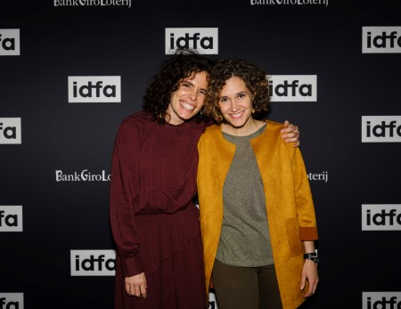 Nederland, Amsterdam, 23-11-2019 - Fotografie Voor IDFA - DATE + YEAR:23-11-2019 - NAME IDFA DEPARTMENT: IDFA Competition For Feature-Length Documentary - NAME EVENT: Premiere - NAME PERSON/GUEST/DIRECTOR: Heidi Hassan, Patricia Pérez Fernández - FUNCTION: Director - LOCATION: Tuschinski - NAME MOVIE:In A Whisper - NAME PHOTOGRAPHER: ROGER CREMERS